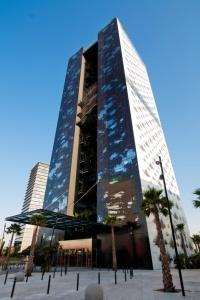 Hotel Renaissance in Barcelona Fira by Jean Novel